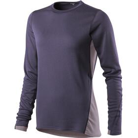 Houdini W's Phantom Crew Shirt Greystone Purple